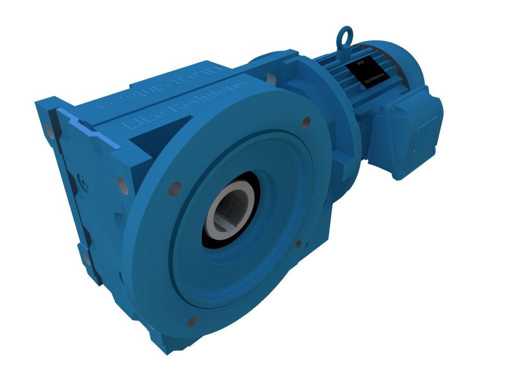 Motoredutor com Motor de 15cv e 87rpm Conimax Weg Cestari WCG20 Trifásico GC