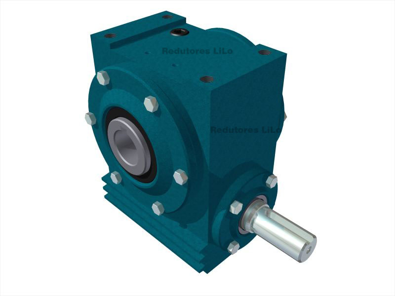 Redutor de Velocidade 1:48 para Motor de 1cv V1