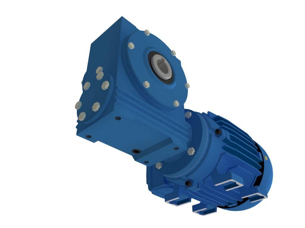Motoredutor com Motofreio de 15cv e 73rpm Weg Trifásico 1:24 WV1