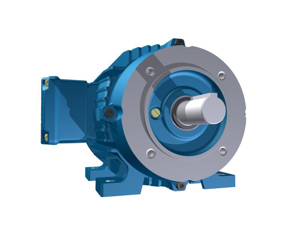 Motor Elétrico Weg de 3cv, 1735 RPM, 220/380v Trifásico com Flange FC 140 DIN