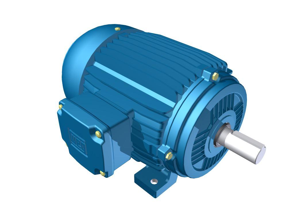 Motor Elétrico Weg de 0,25cv, 1705 RPM, 220/380v Trifásico