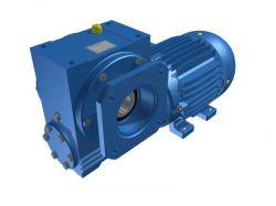 Motoredutor Redução de 1:100 com Motor de 3cv 4Polos WV7